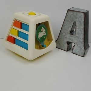 Fisher Price Turn and Learn Vintage Baby Box Toy